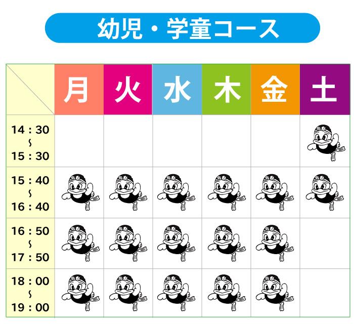 幼児・学童コース 甘木スイミングクラブ